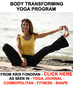 Yoga program to get in shape, stay in shape and transform your body