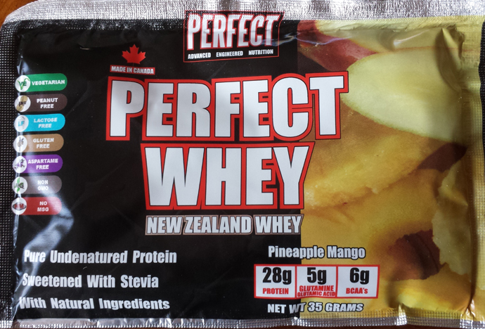 Perfect Whey - New Zealand Whey - Pineapple Mango